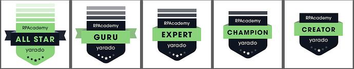 Yarado Badges